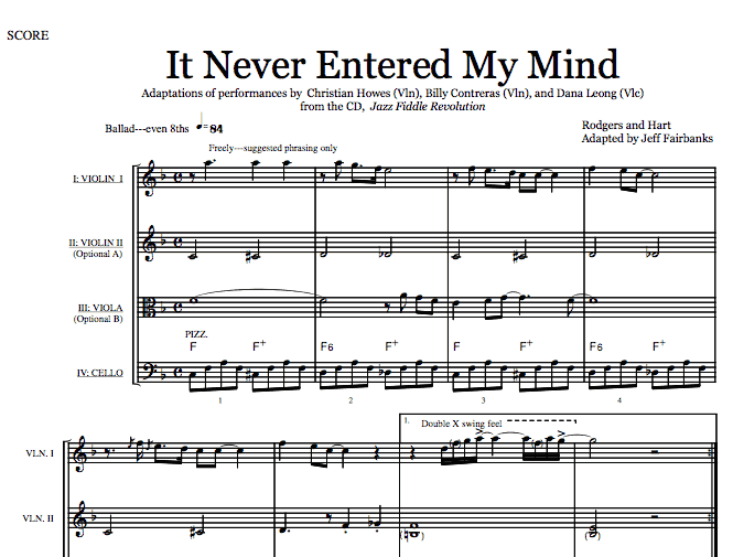 It Never Entered My Mind (Download)
